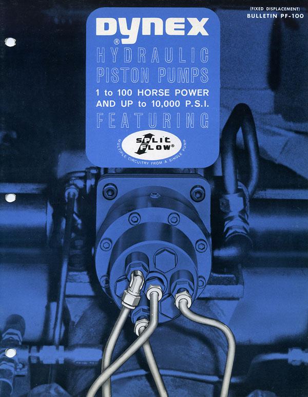 Dynex History Brochure Blue