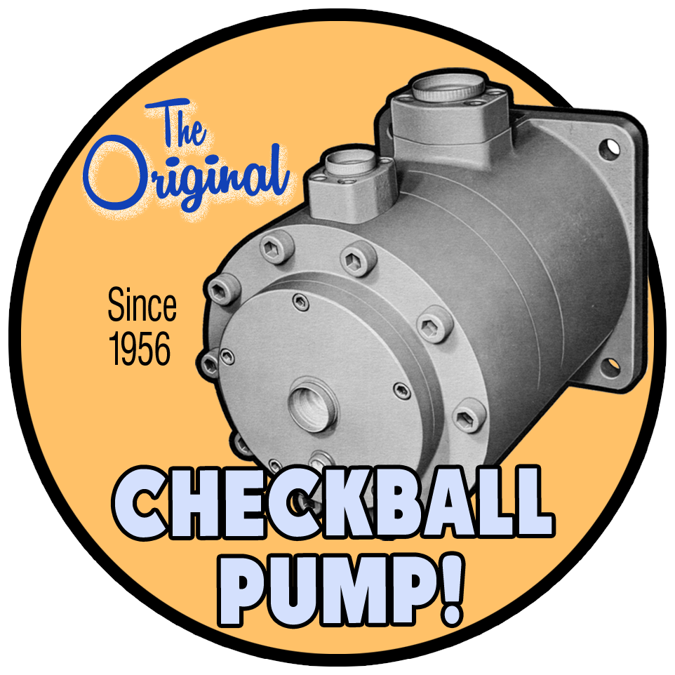 Original Checkball Pump Graphic