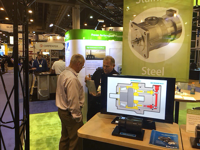 Dynex Booth at OTC 2016