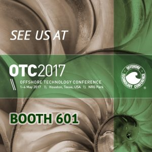 See us at OTC2017 Booth 601