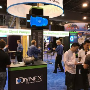 Dynex Booth at OTC 2018