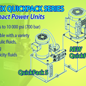 Dynex Quickpack Series of Compact Hydraulic Power Units