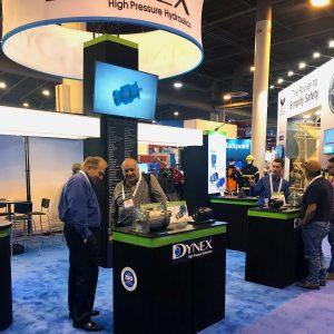 Dynex booth at OTC 2019