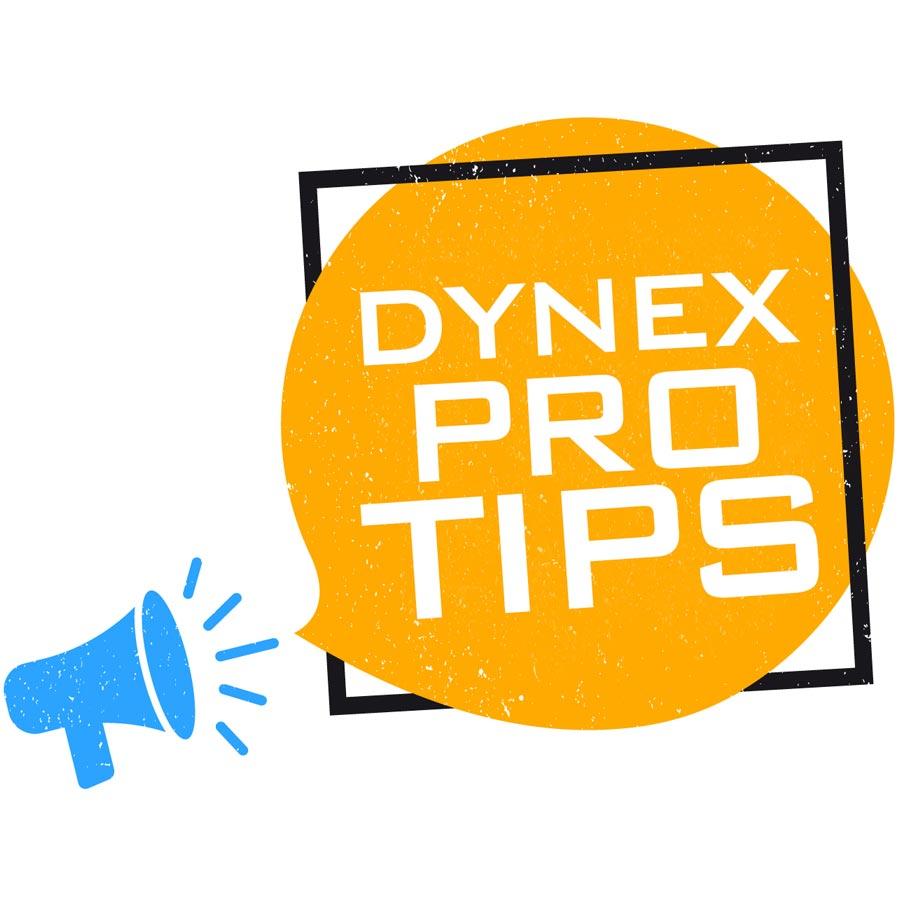 Dynex Pro Tips Logo